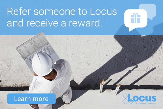 Get Rewarded for Referring Locus