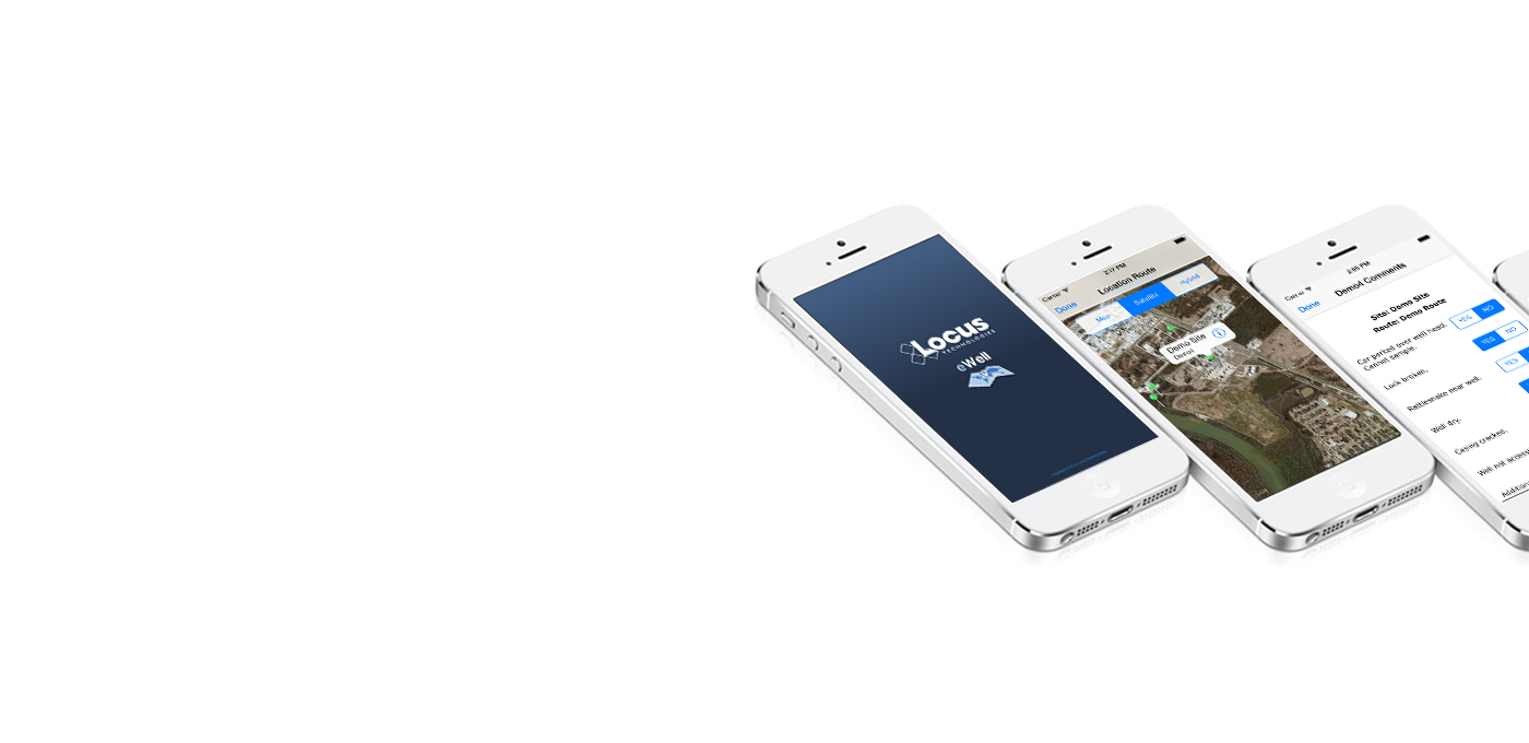 Introducing eWell - The first iPhone App for water quality data collection and management.