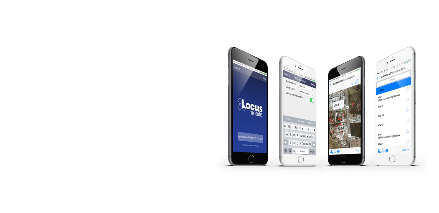 Introducing LocusMobile - A comprehensive mobile field data collection app for iOS.