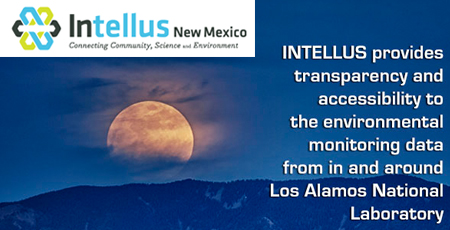 Intellus provides transparency and accessibility to the environmental monitoring data from in and around Los Alamos National Laboratory