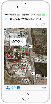 Locus Mobile provides full GIS integration